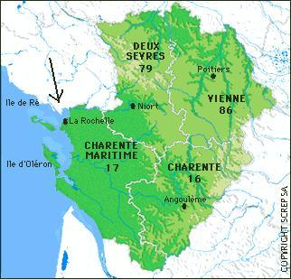 Map Of France La Rochelle.Family History Of Emily Bebeau